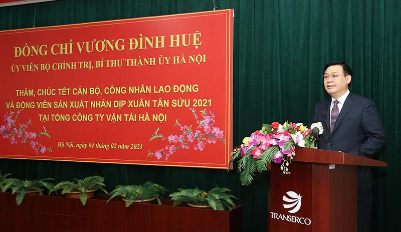 """Ông Vương Đình Huệ: Tránh """"thông chỗ này tắc chỗ kia"""" khi đường sắt Cát Linh - Hà Đông hoạt động năm 2021 - Ảnh 1."""
