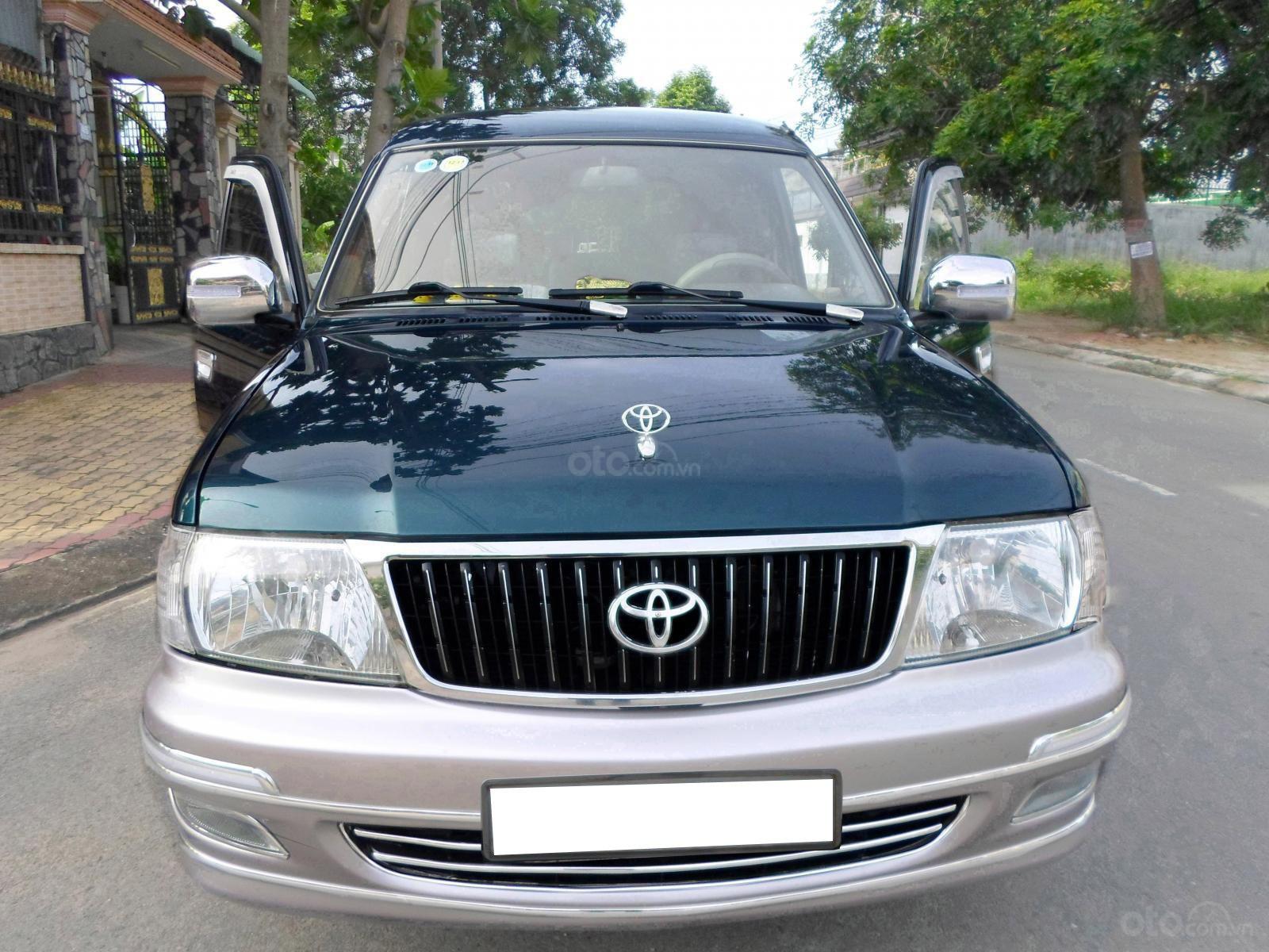 Thiết kế đầu xe Toyota Zace 2005 1
