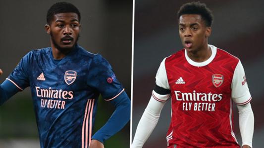 2 sao trẻ của Arsenal.