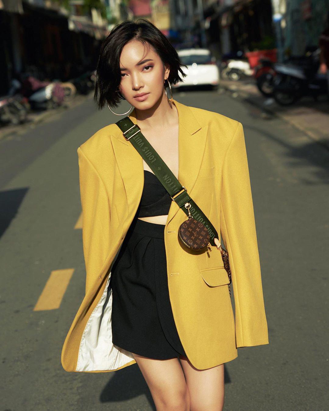 Châu Bùi sở hữu phong cách thời trang đa dạng, cá tính.