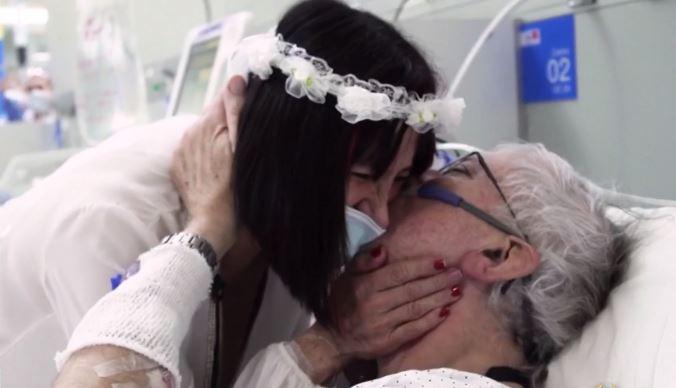 Đám cưới đặc biệt của cô dâu chú rể U70 giữa mùa dịch Covid-19 - Ảnh 2.