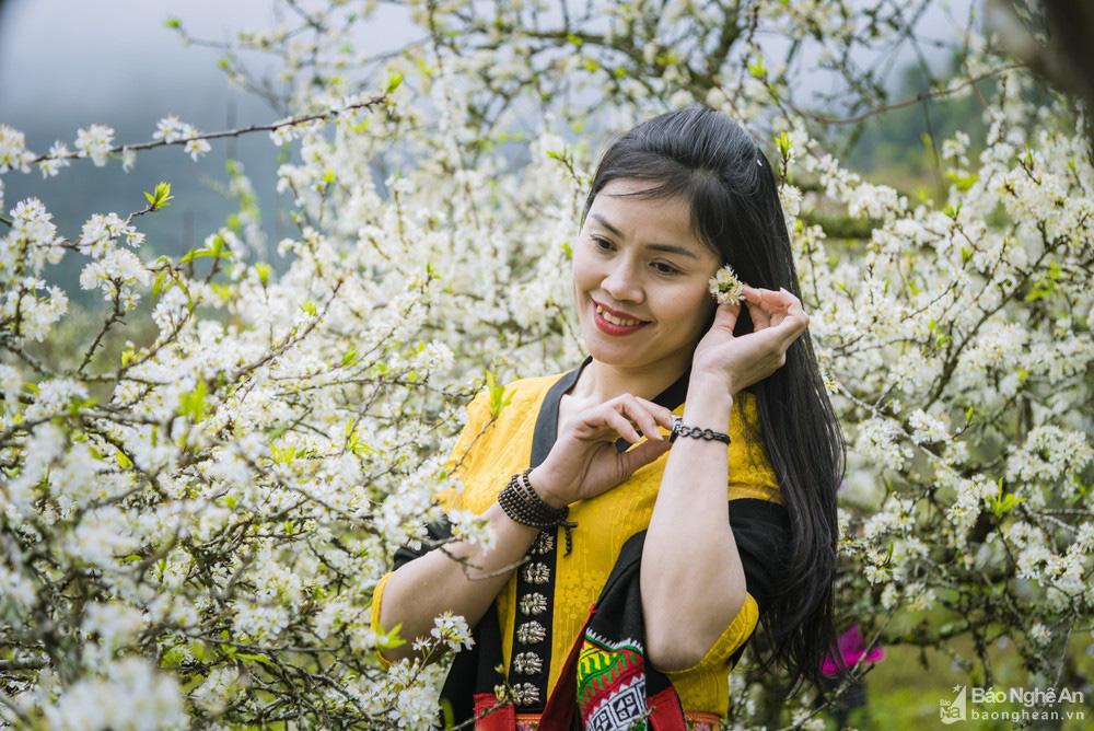Mê mẩn với những đồi hoa mận nở trắng tinh khôi ở miền Tây Nghệ An, Mộc Châu, Vân Hồ… - Ảnh 11.