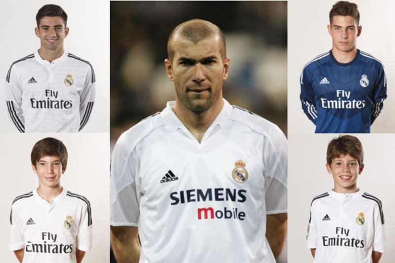 4 con trai của Zidane theo nghiệp bóng đá: Hổ phụ không sinh... hổ tử - Ảnh 1.