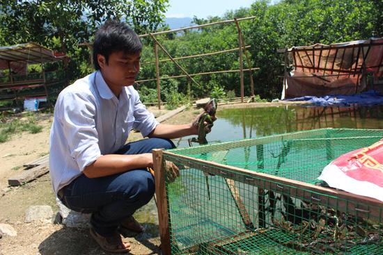 Quảng Nam: Cách làm giàu độc lạ-mô hình nuôi thú rừng ở Nam Giang - Ảnh 1.