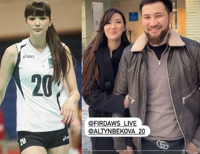 """""""Nữ thần bóng chuyền"""" Sabina Altynbekova coi ai là người đàn ông """"duy nhất""""? - Ảnh 1."""