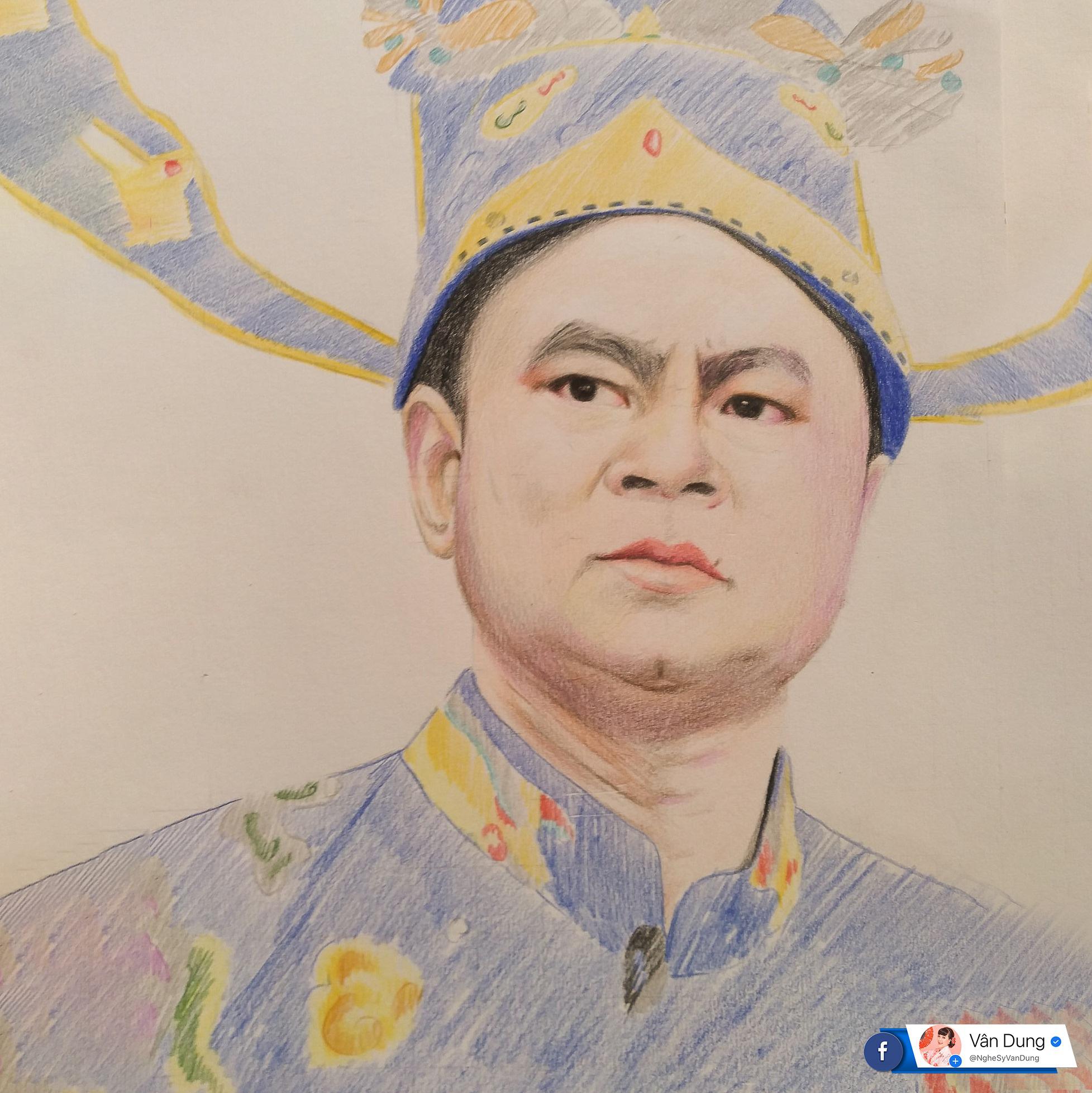 Dân mạng thích thú tranh fan vẽ Táo quân, Cô Đẩu lại giống Thảo Vân - Ảnh 1.