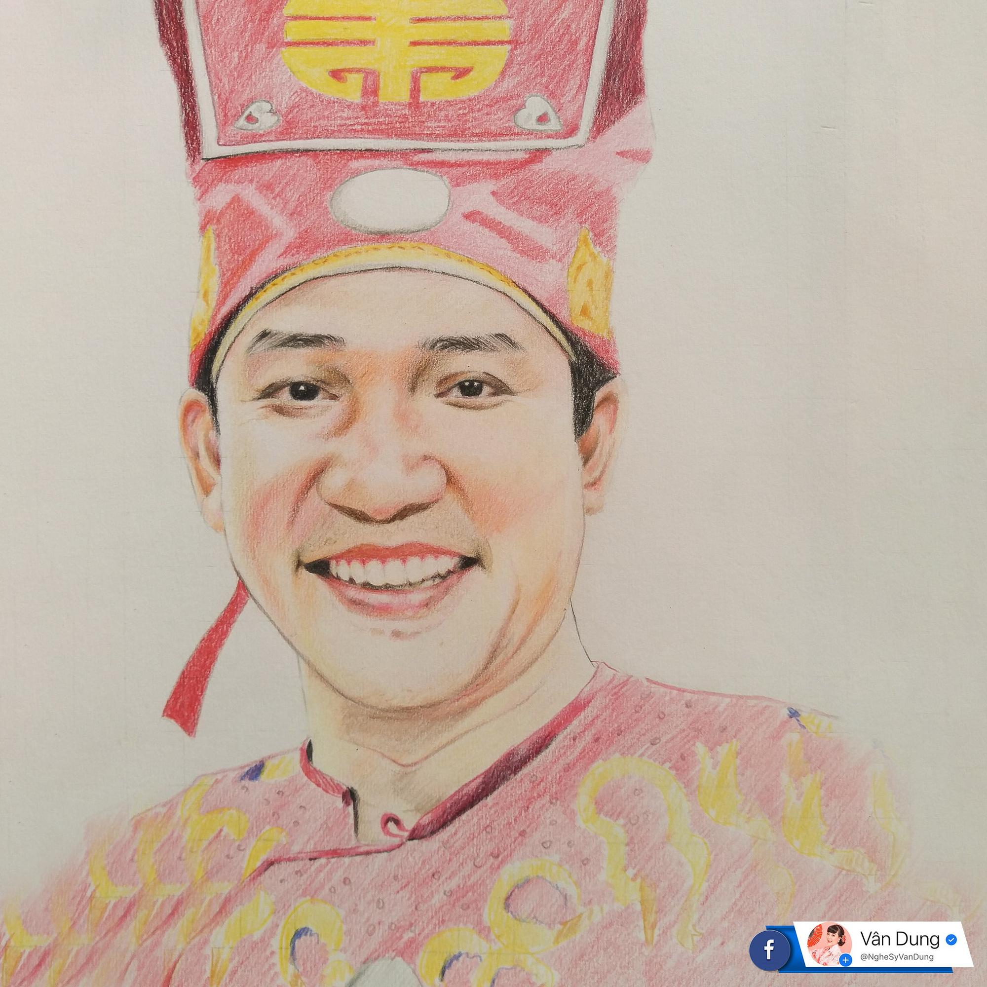 Dân mạng thích thú tranh fan vẽ Táo quân, Cô Đẩu lại giống Thảo Vân - Ảnh 4.