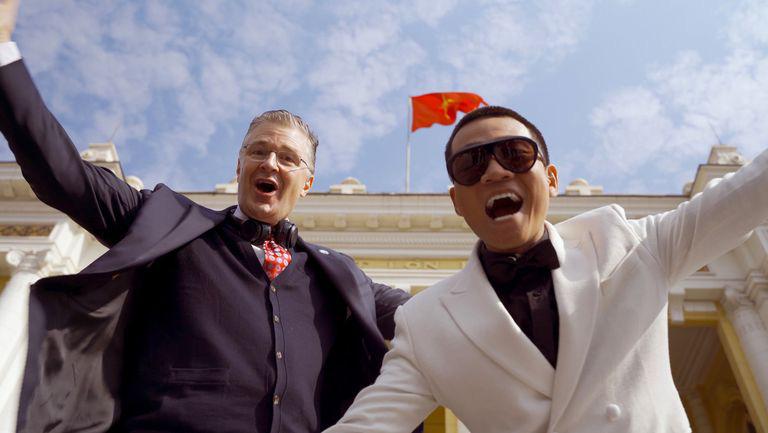 Đại sứ Mỹ chúc Tết Tân Sửu bằng rap Việt cùng Wowy - Ảnh 2.