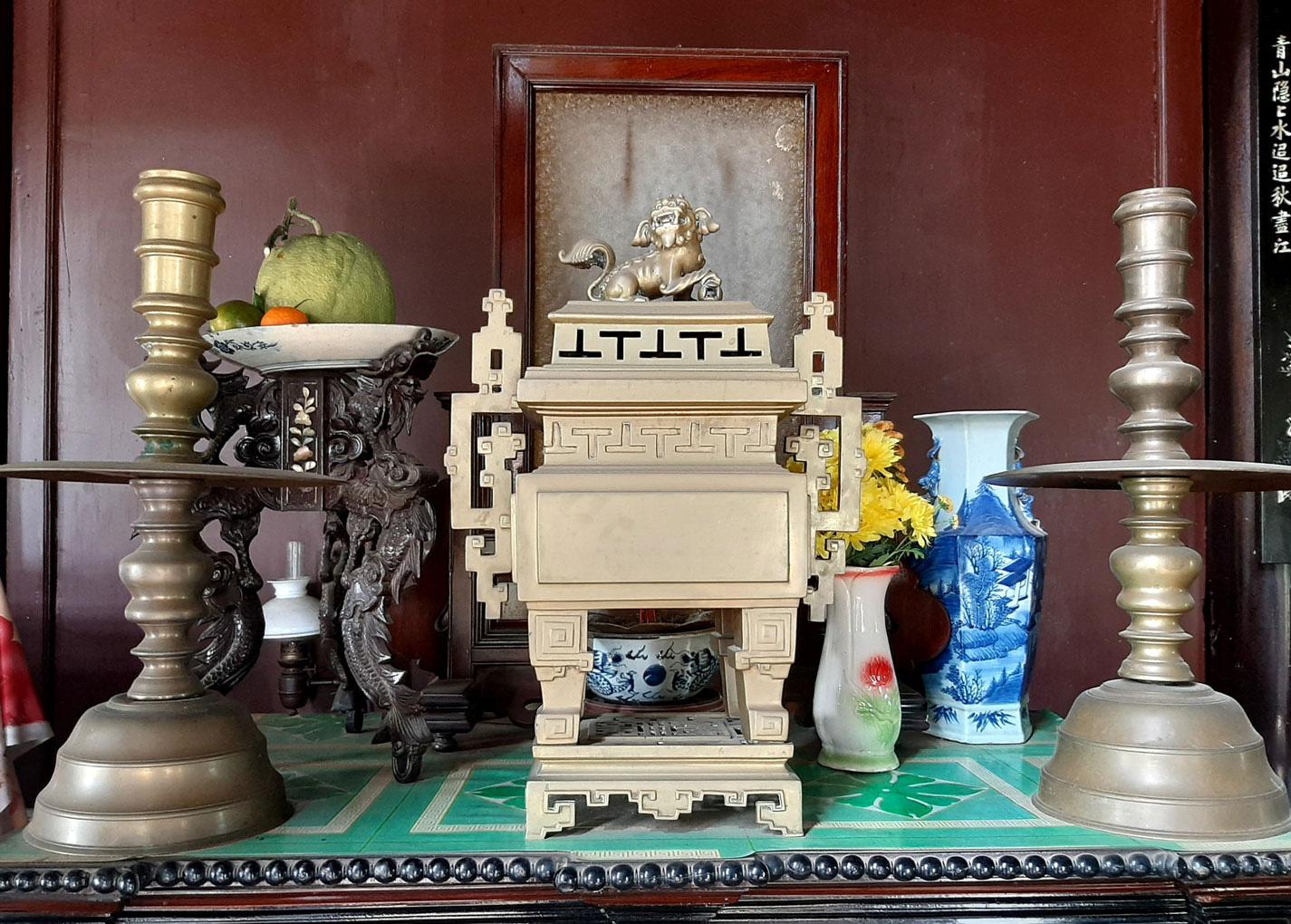 Long An: Xóm Nhà Giàu ở xứ trồng thanh long, nhà cổ, trong nhà cũng toàn đồ cổ, ai cũng trầm trồ - Ảnh 7.