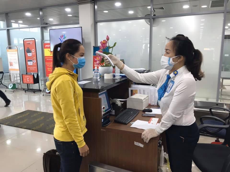 Quảng Nam: 100% cán bộ, nhân viên Cảng hàng không Chu Lai âm tính với Covid-19   - Ảnh 2.