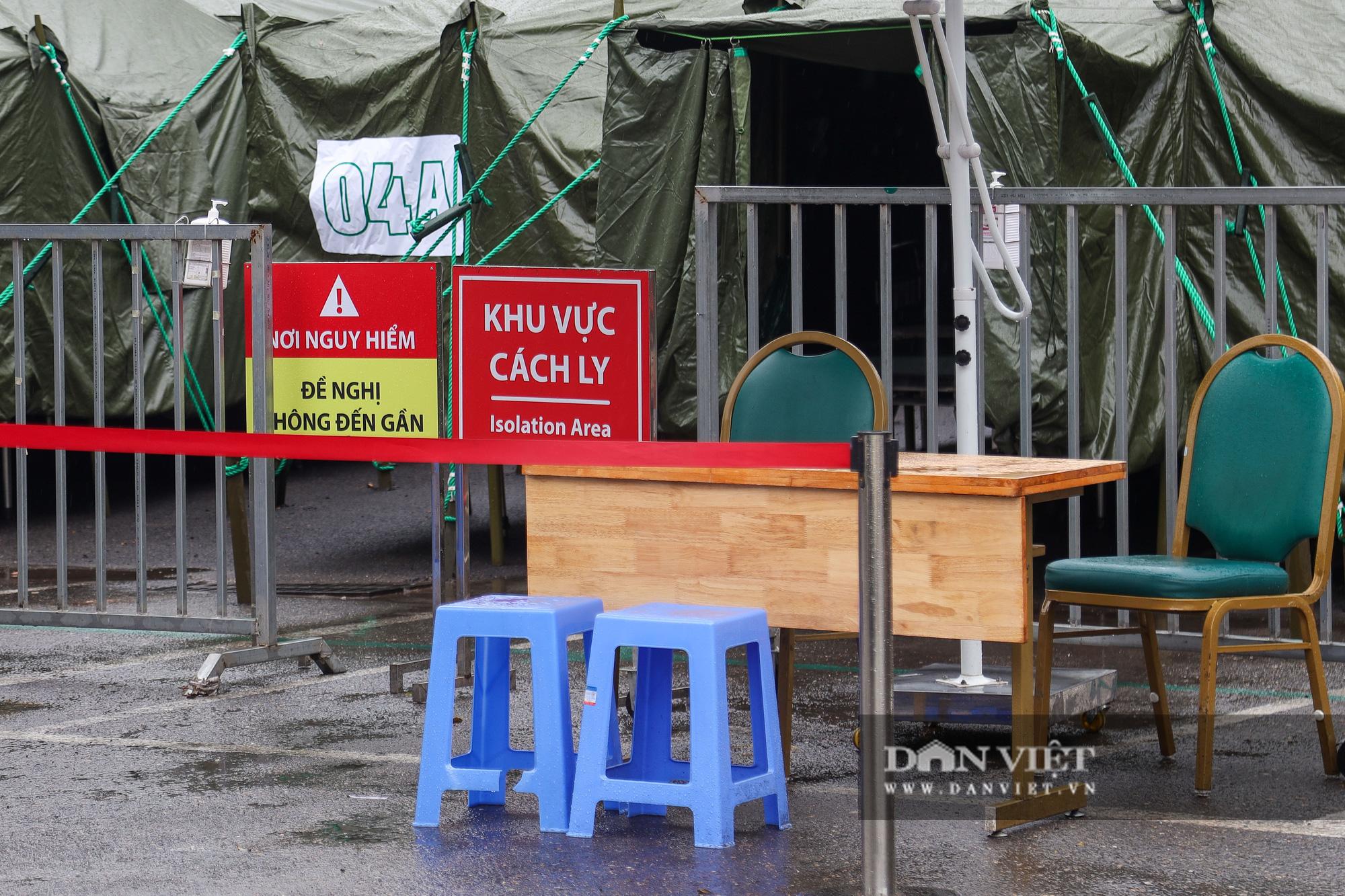 Cận cảnh bệnh viện dã chiến xây trong 4 tiếng ở Hà Nội  - Ảnh 5.