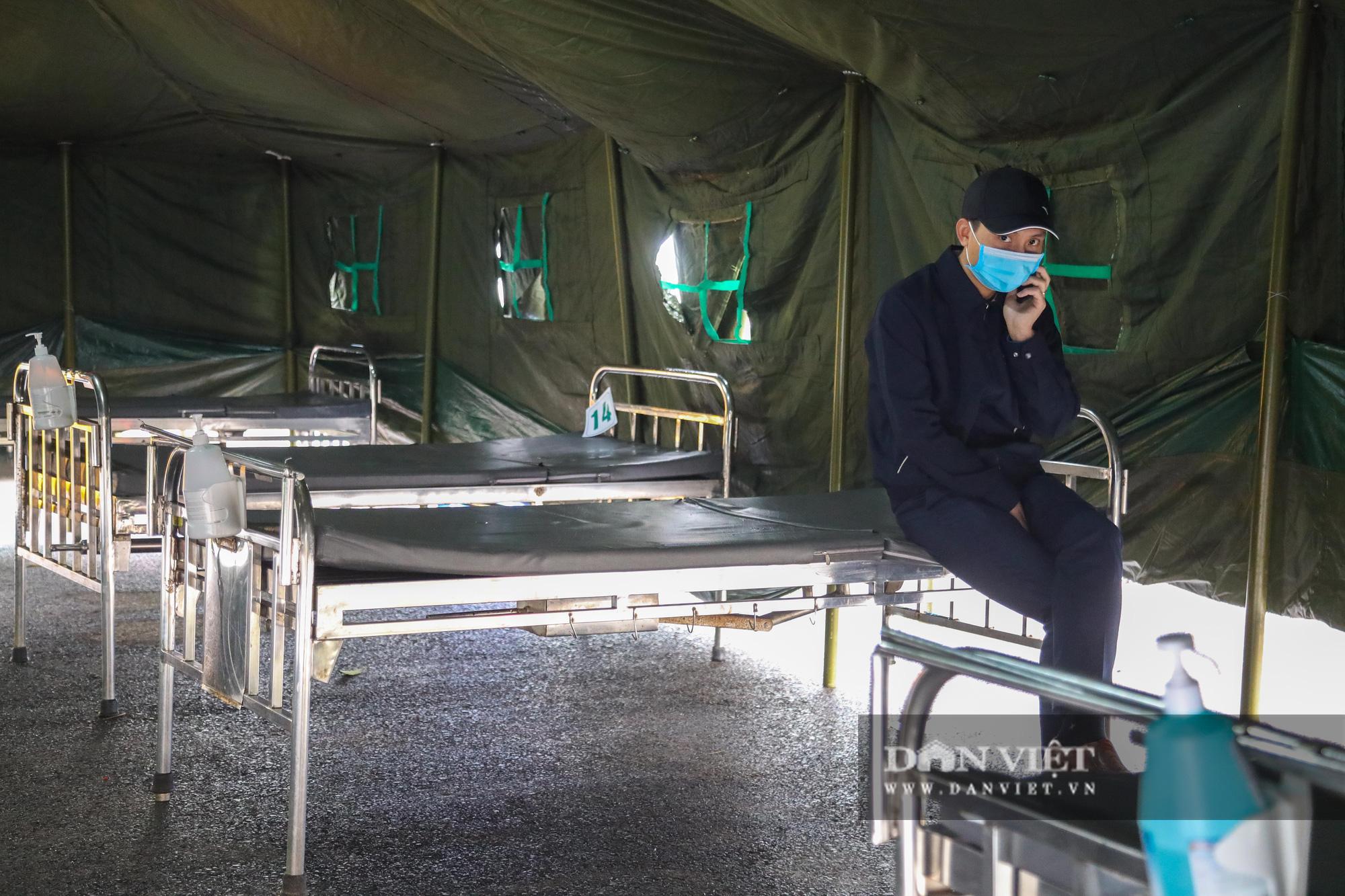 Cận cảnh bệnh viện dã chiến xây trong 4 tiếng ở Hà Nội  - Ảnh 10.