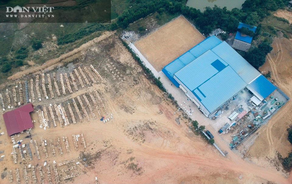 """Xây nhà máy """"khủng"""" trên đất rừng ở Phú Thọ: Buộc trả lại hiện trạng, xử phạt hơn 57 triệu đồng - Ảnh 1."""
