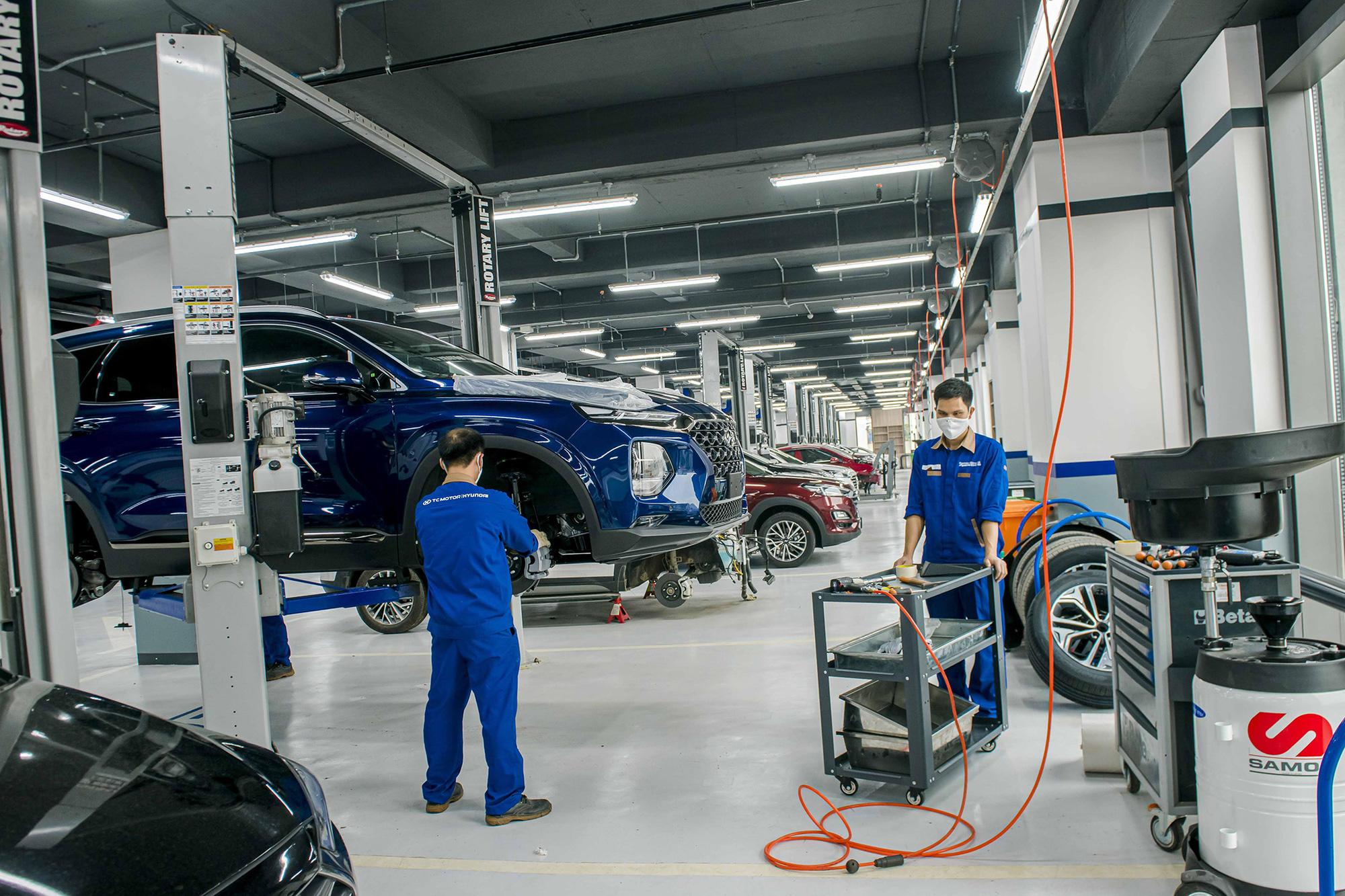 TC MOTOR nâng bảo hành 5 năm cho các mẫu xe du lịch Hyundai - Ảnh 1.