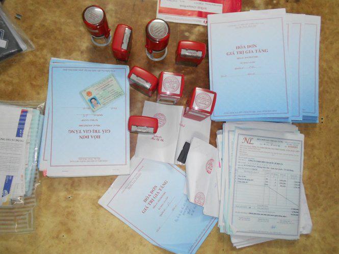 CA Thái Bình khởi tố hàng loạt bị can vụ mua bán trái phép hóa đơn - Ảnh 1.