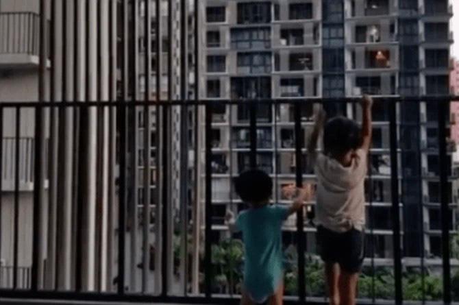 Trưởng Công an quận Thanh Xuân khuyến cáo an toàn cho trẻ em tại các khu chung cư cao tầng - Ảnh 2.