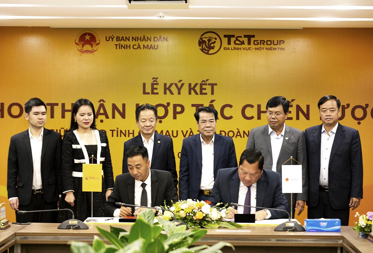 Tập đoàn T&T Group hợp tác chiến lược với 2 tỉnh Lào Cai và Cà Mau - Ảnh 1.