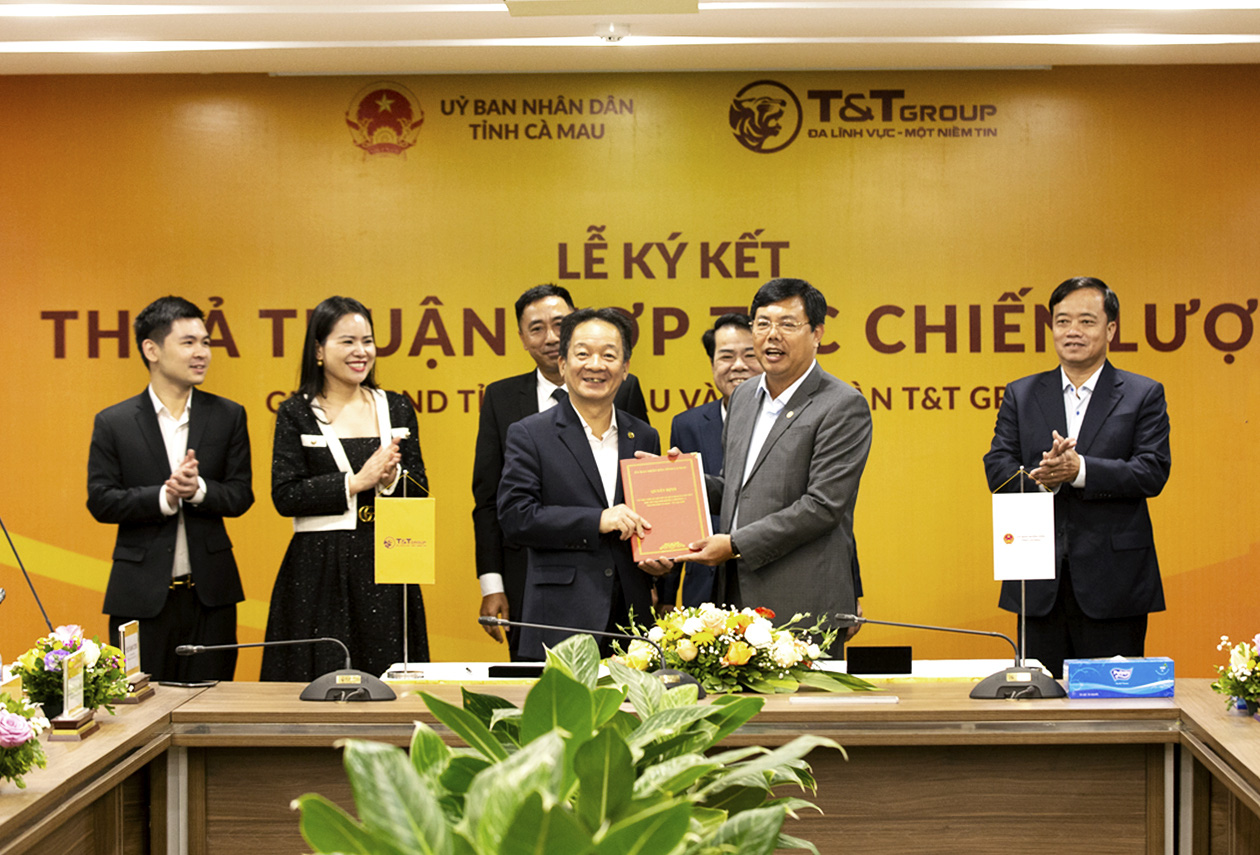 Tập đoàn T&T Group hợp tác chiến lược với 2 tỉnh Lào Cai và Cà Mau - Ảnh 2.