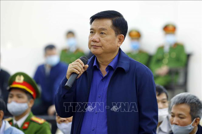 Ông Đinh La Thăng nói cáo trạng như một bản nhạc, chỗ nào cũng có tên mình - Ảnh 1.