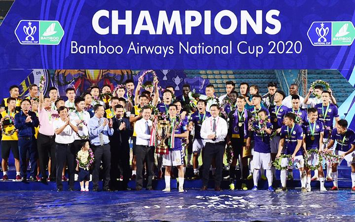 Hà Nội FC vô địch Cúp QG Bamboo Airways 2020.