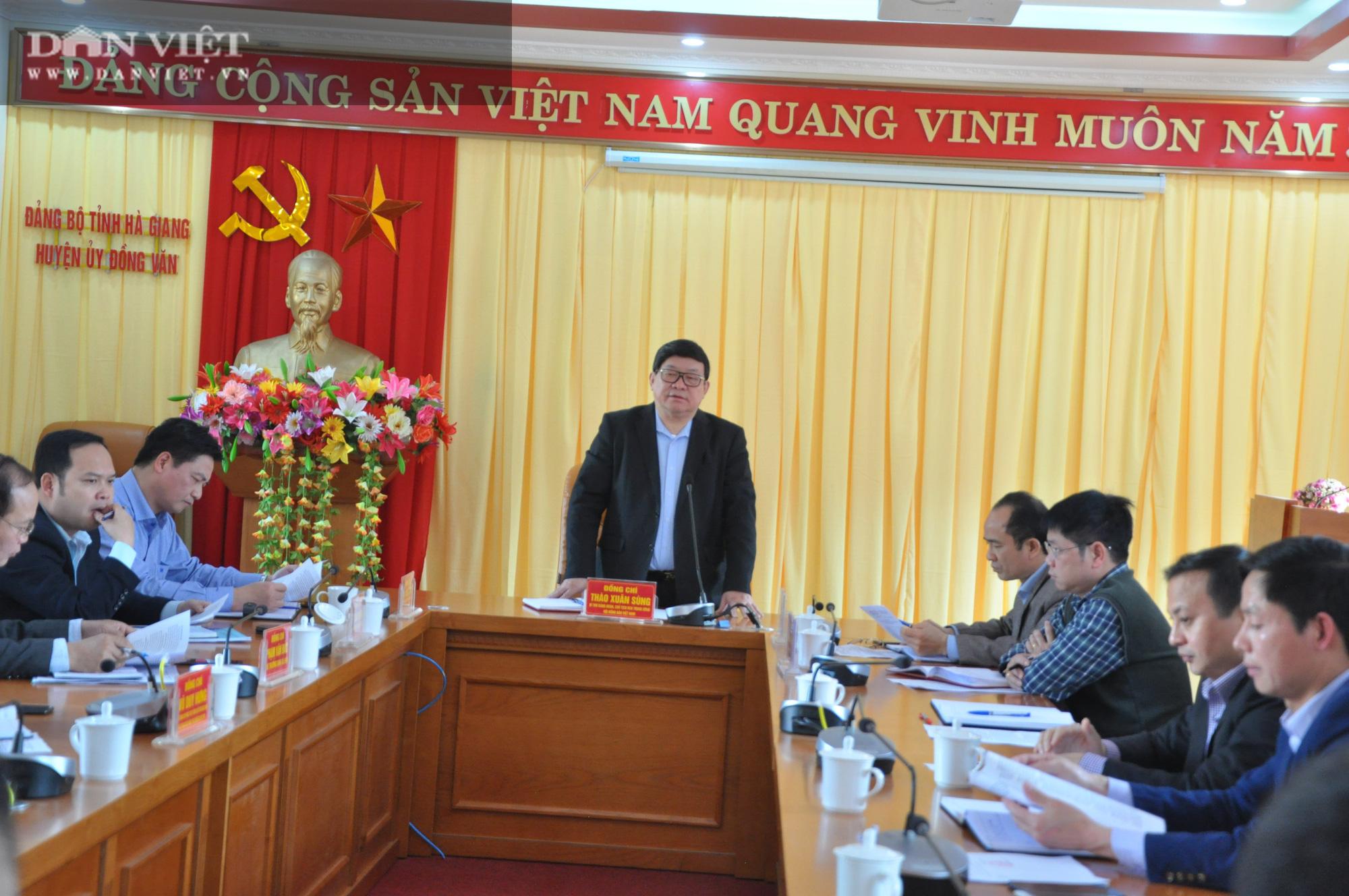 Chủ tịch Hội ND Việt Nam gợi mở giúp huyện núi đá Hà Giang vượt khó - Ảnh 1.