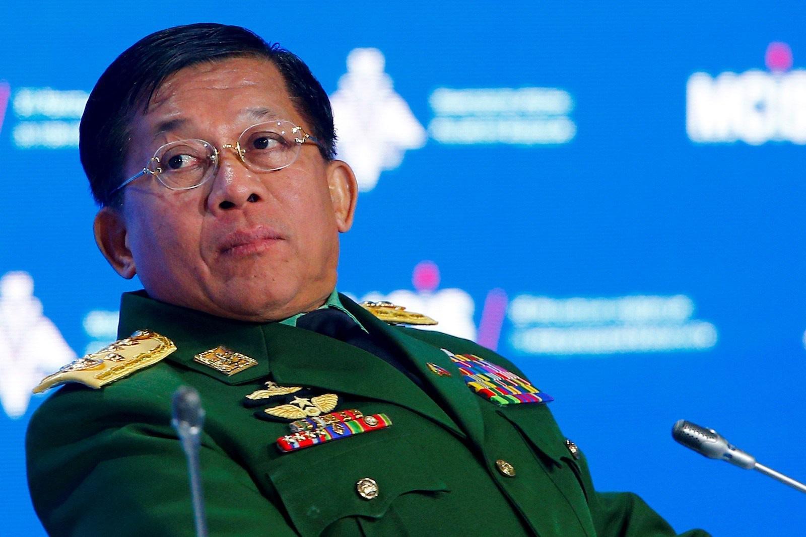 2 con của thống tướng Myanmar nếm đòn từ Mỹ - Ảnh 1.
