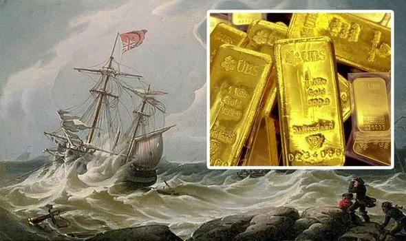 Tàu đắm chứa 1,4 tỷ USD vàng bạc ở Đại Tây Dương khiến thợ săn kho báu liều chết truy tìm - Ảnh 1.