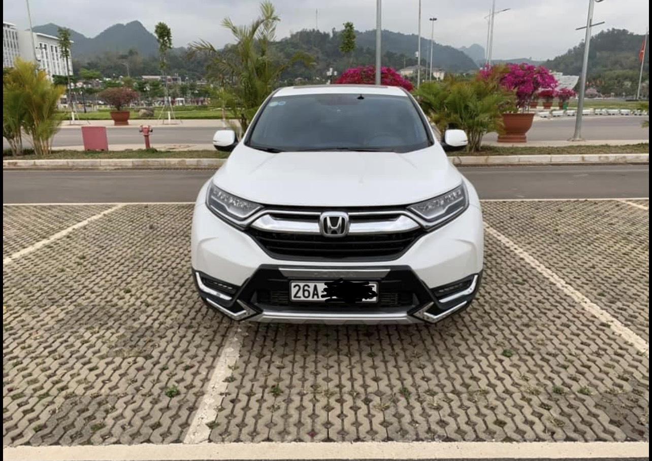 Honda CR-V nhập Thái mới đi 4000km, bán giá cực chất - Ảnh 1.