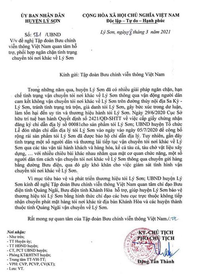 """Quảng Ngãi: Chính quyền huyện ban hành văn bản """"lạ"""" để bảo vệ thương hiệu tỏi Lý Sơn (?)  - Ảnh 3."""
