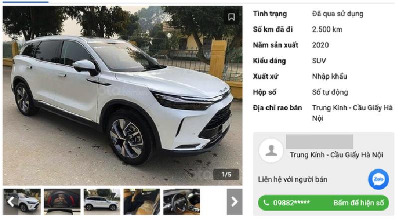 Ngã ngửa chuyện rao bán vội xe Trung Quốc Beijing X7 - Ảnh 3.
