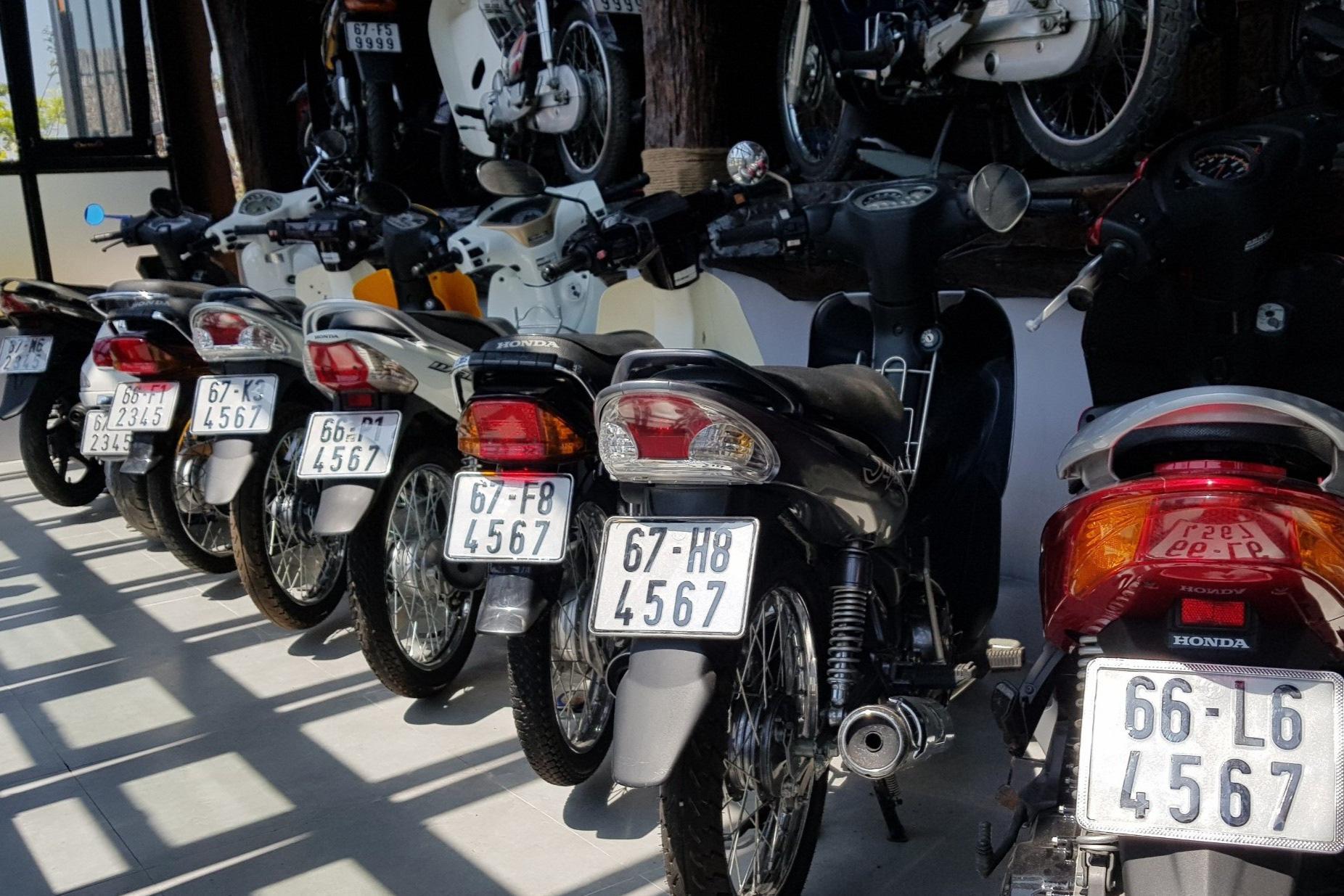 Bộ sưu tập 500 xe mô tô có biển số đẹp mê hồn - Ảnh 10.