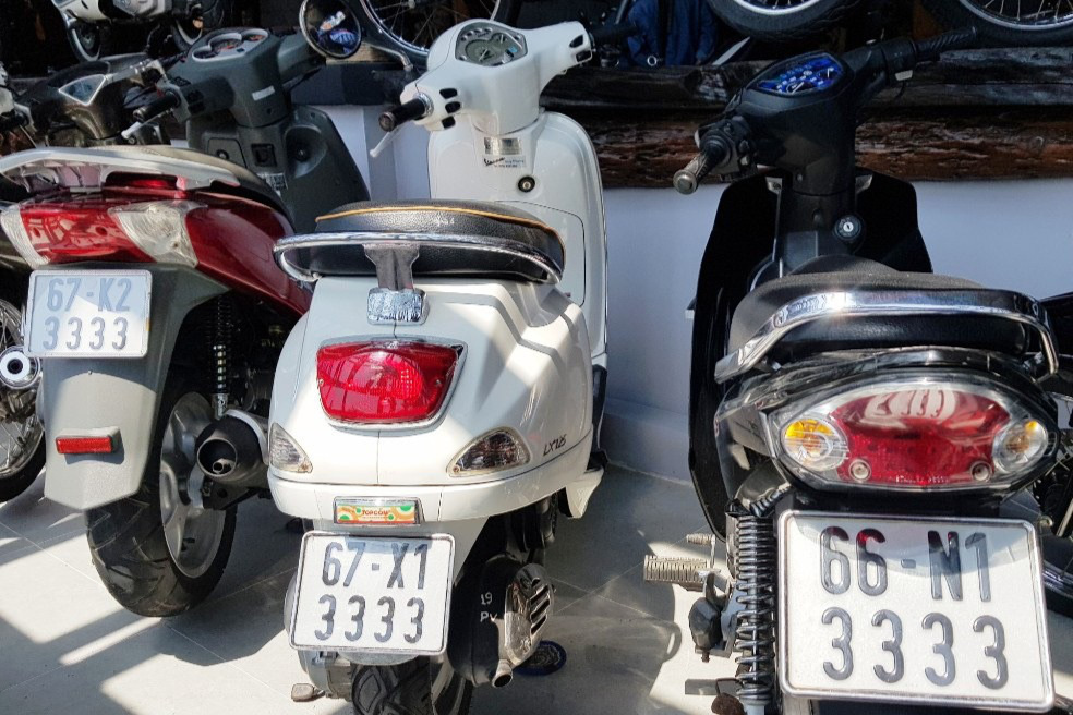 Bộ sưu tập 500 xe mô tô có biển số đẹp mê hồn - Ảnh 2.