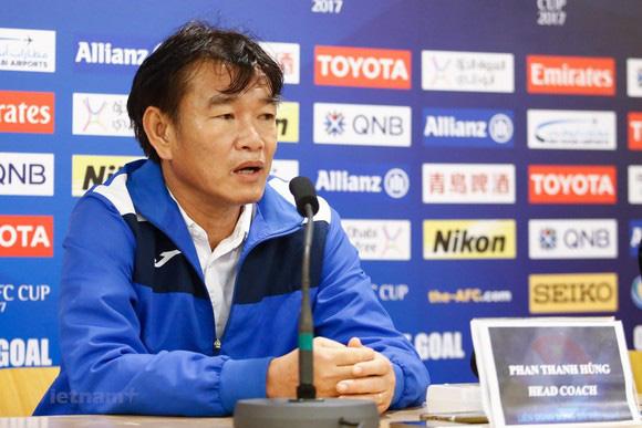 HLV Phan Thanh Hùng hy vọng sẽ cùng B.Bình Dương ghi dấu ấn tại V.League.