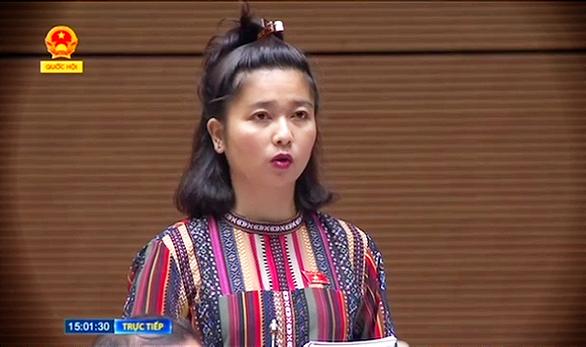 """Đại biểu Quốc hội Ksor H'Bơ Khăp: """"Tôi không ứng cử vì muốn cống hiến cho ngành Công an"""" - Ảnh 1."""