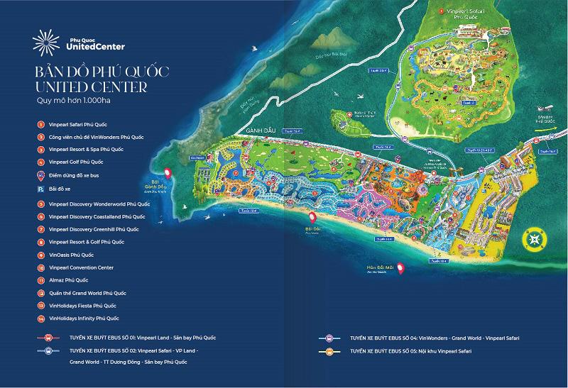 """Siêu quần thể nghỉ dưỡng, vui chơi giải trí Phú Quốc United Center tại Bắc đảo Ngọc xứng danh """"điểm đến hàng đầu khu vực""""."""