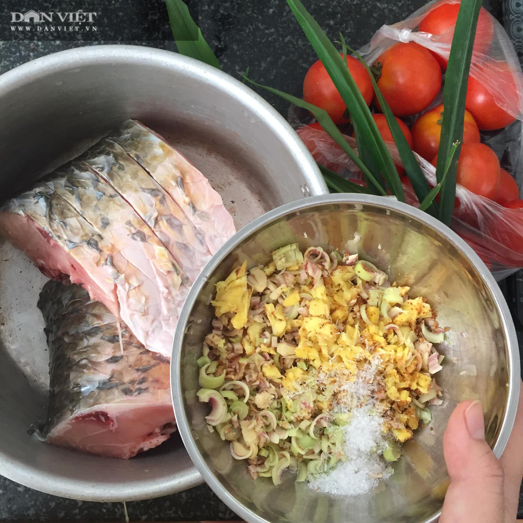 Cá hấp bia ngon ngọt đổi bữa cơm nhà - Ảnh 2.