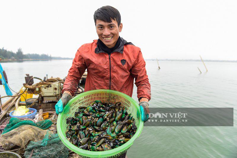 Kiếm tiền triệu mỗi ngày dưới đáy sông Yên - Ảnh 7.
