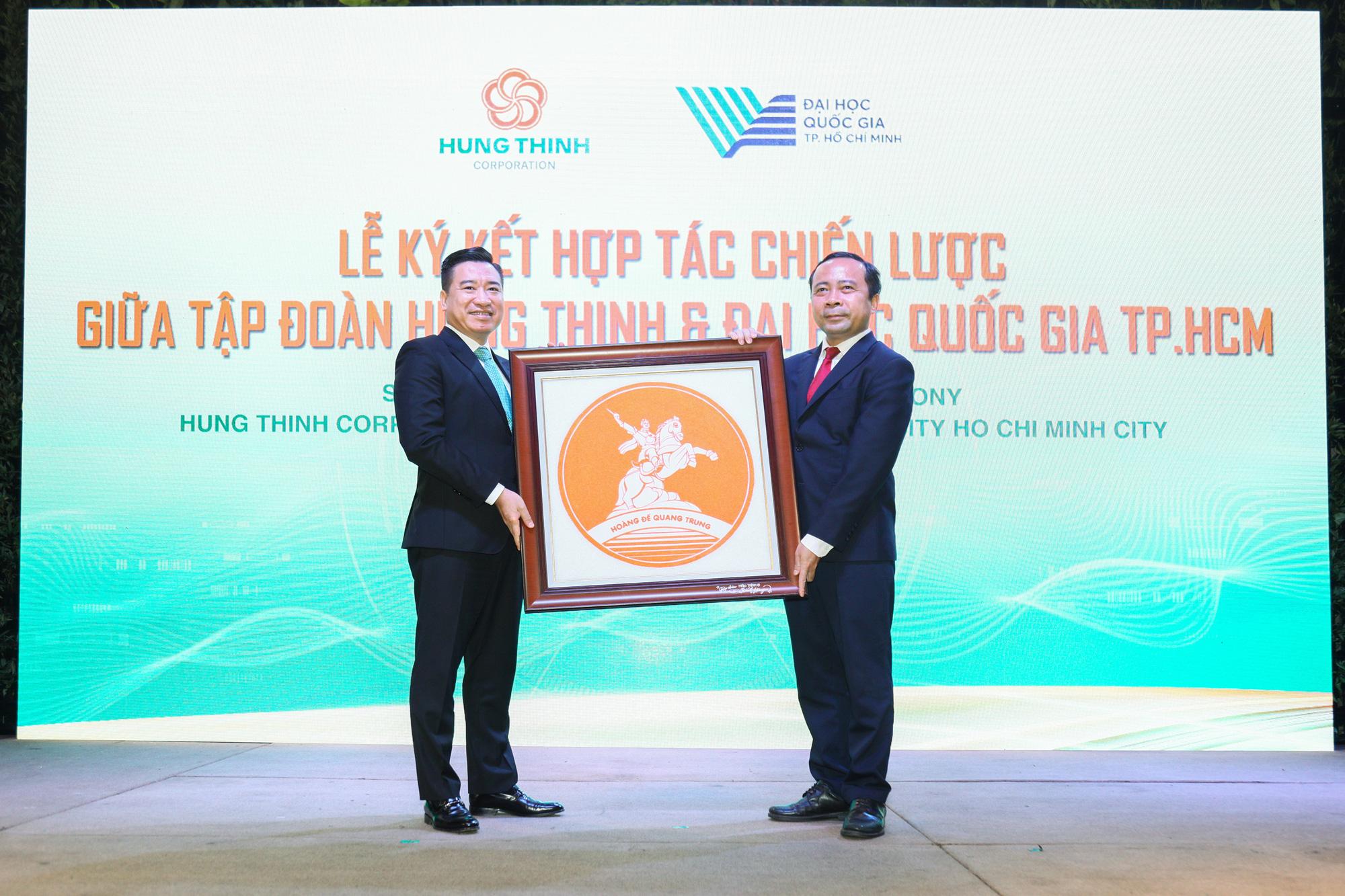 Tập đoàn Hưng Thịnh và Đại học Quốc gia TP.HCM ký kết hợp tác chiến lược - Ảnh 5.