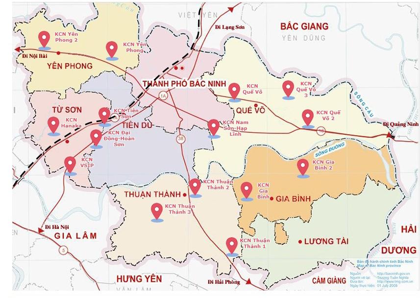 Thủ tướng phê duyệt khu công nghiệp thứ 16 tại Bắc Ninh: KCN Gia Bình II có tổng vốn đầu tư gần 4.000 tỷ đồng - Ảnh 2.