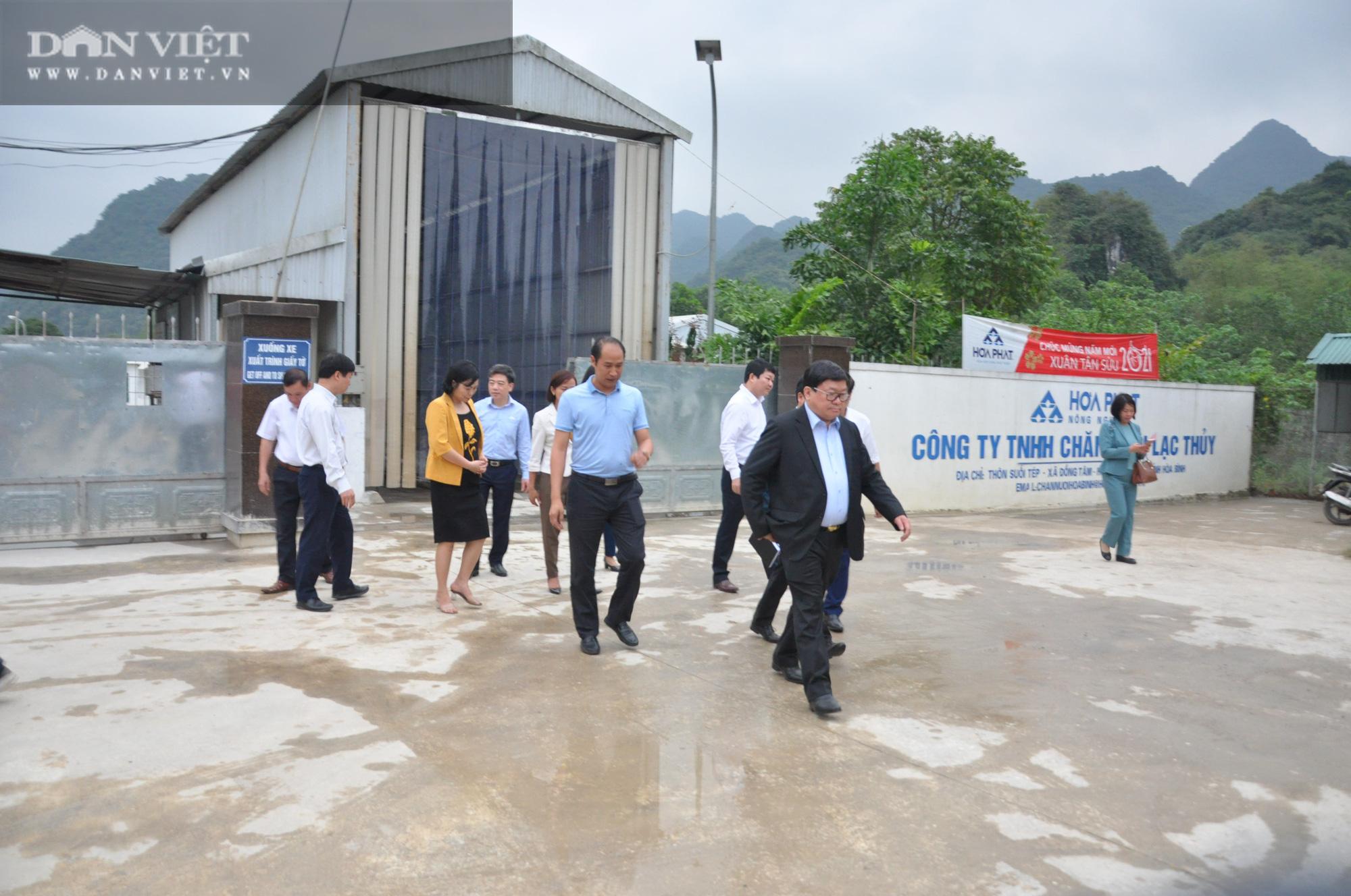 Chủ tịch Hội Nông dân Việt Nam vượt hàng đá thăm trang trại nuôi con đặc sản thu gần 7 tỷ đồng/năm ở Hòa Bình - Ảnh 8.