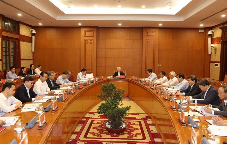 Ảnh: Tổng Bí thư chủ trì họp Thường trực Ban chỉ đạo về chống tham nhũng - Ảnh 4.