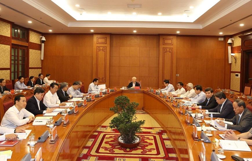 Ảnh: Tổng Bí thư chủ trì họp Thường trực Ban chỉ đạo về chống tham nhũng - Ảnh 5.