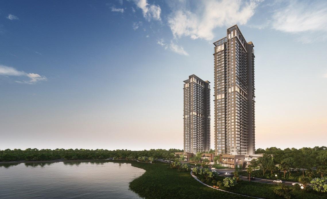 """Ecopark chi nghìn tỷ, làm công viên riêng biệt cho 2 toà tháp """"thiên nhiên"""" nhất khu đô thị - Ảnh 1."""