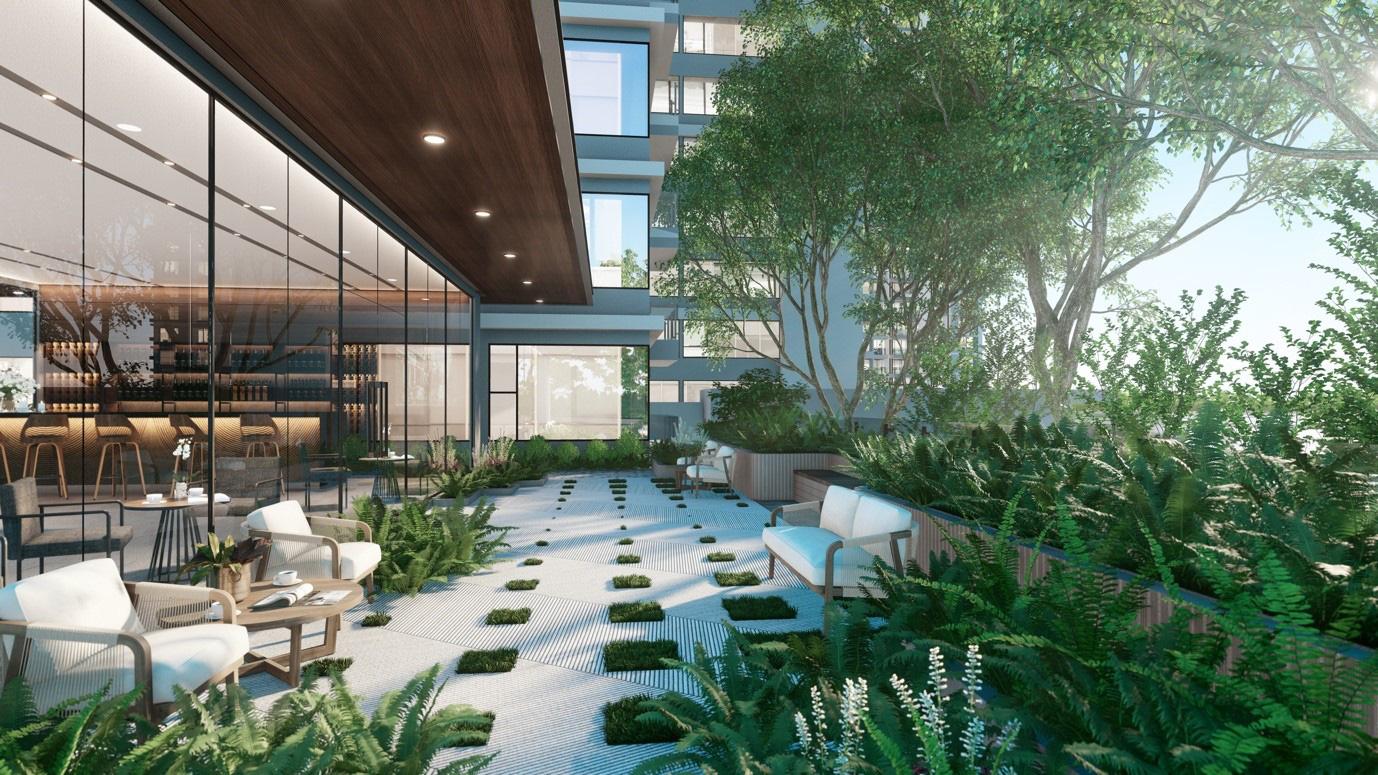 """Ecopark chi nghìn tỷ, làm công viên riêng biệt cho 2 toà tháp """"thiên nhiên"""" nhất khu đô thị - Ảnh 12."""