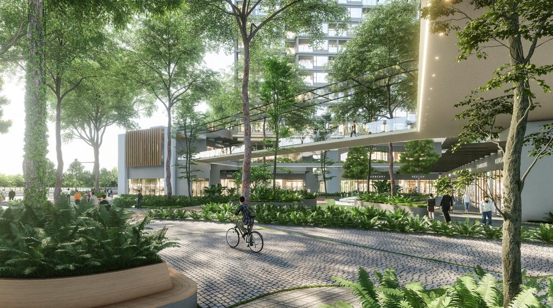 """Ecopark chi nghìn tỷ, làm công viên riêng biệt cho 2 toà tháp """"thiên nhiên"""" nhất khu đô thị - Ảnh 2."""