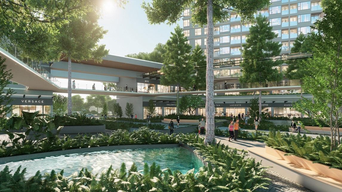 """Ecopark chi nghìn tỷ, làm công viên riêng biệt cho 2 toà tháp """"thiên nhiên"""" nhất khu đô thị - Ảnh 4."""