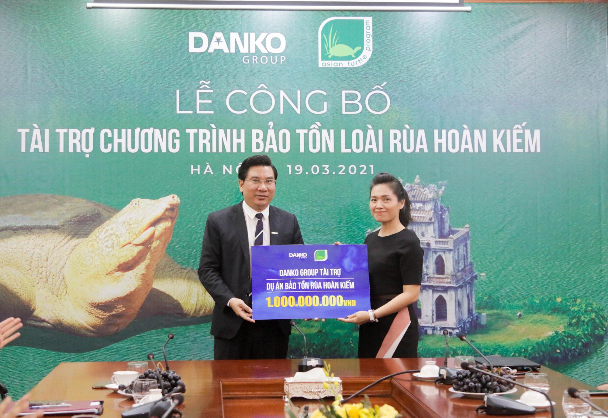 Danko Group đồng hành cùng Dự án bảo tồn rùa Hoàn Kiếm - Ảnh 2.