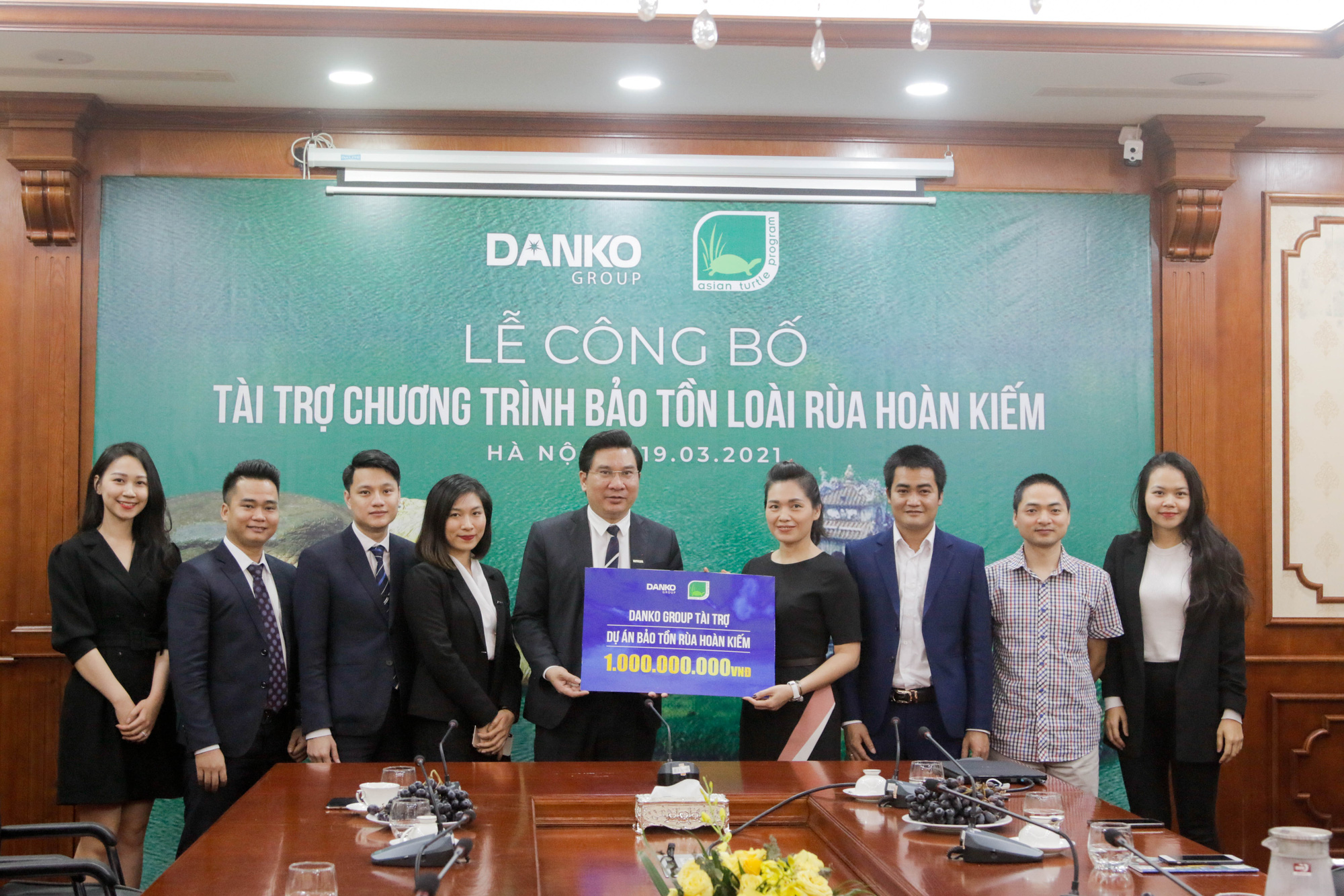 Danko Group đồng hành cùng Dự án bảo tồn rùa Hoàn Kiếm - Ảnh 4.
