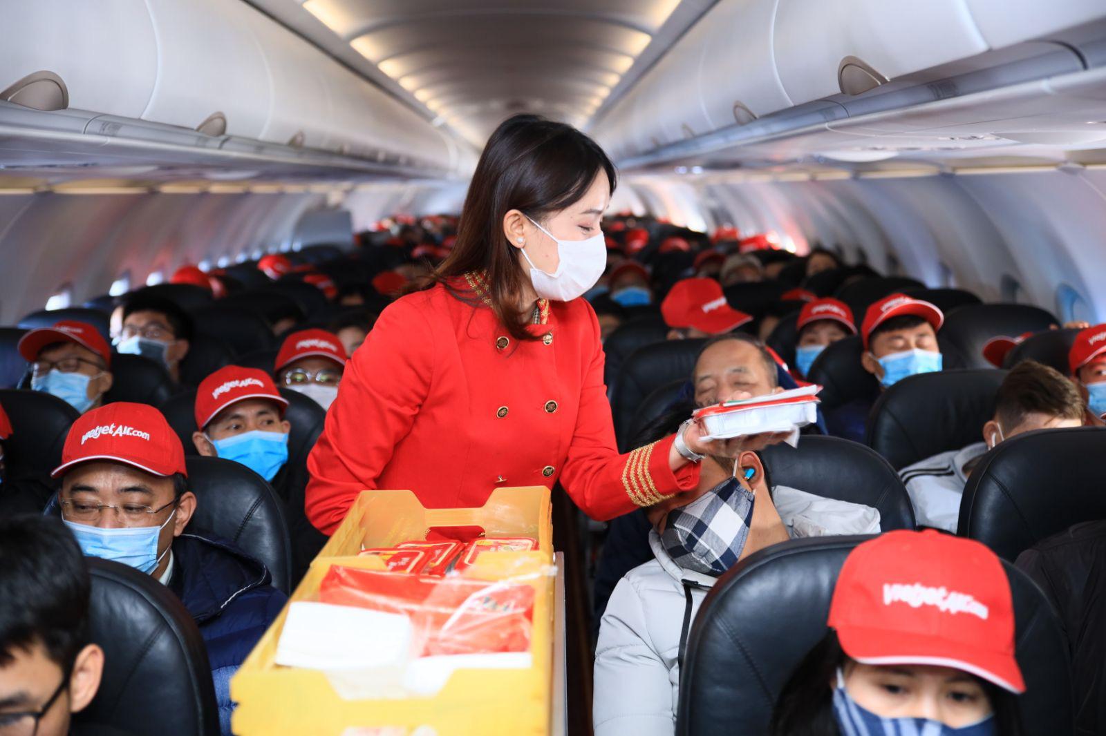 Vietjet khai thác trở lại các đường bay quốc tế thường lệ đến Bangkok.