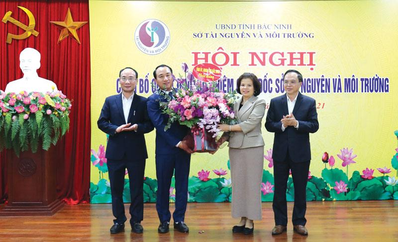 Ông Nguyễn Xuân Thanh giữ chức Giám đốc Sở Tài nguyên và Môi trường Bắc Ninh - Ảnh 1.